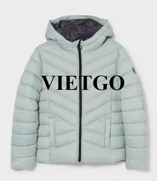 Opportunity to export jackets for a customer from Nepal