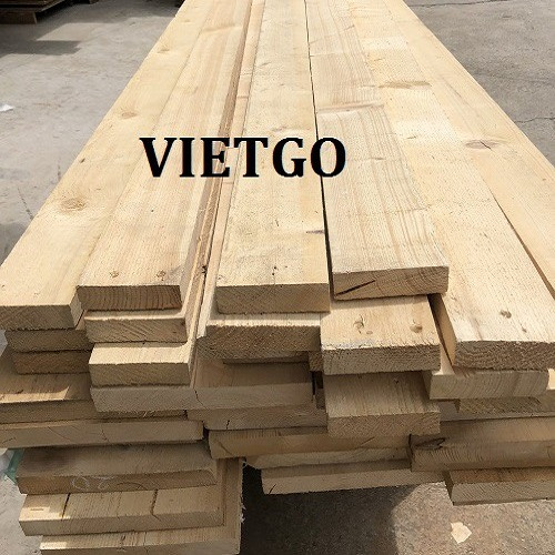 Opportunity to export pine timbers to the Chinese market
