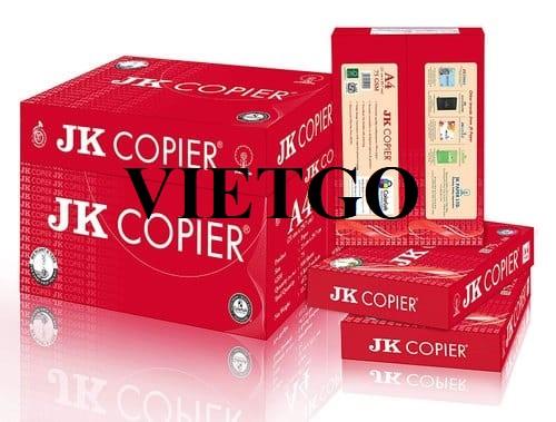 Cơ hội xuất khẩu 5 container giấy A4 sang thị trường Lebanon