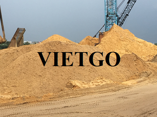 Cơ hội xuất khẩu 1.2 triệu tấn cát sông và cát biển sang thị trường Singapore