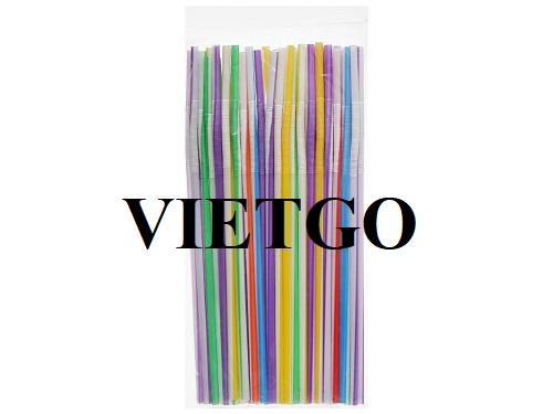 Cơ hội xuất khẩu ống hút nhựa từ vị khách hàng người Pháp