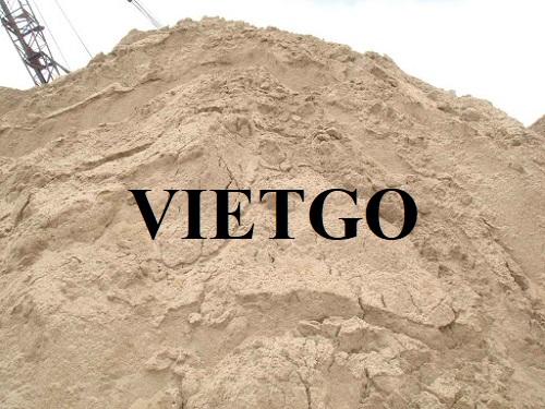 Cơ hội xuất khẩu cát sông mỗi tháng sang thị trường Trung Quốc