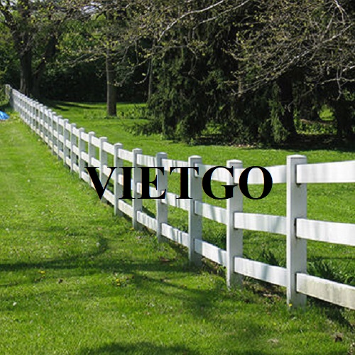 Opportunity to export plastic fences to the Australian market