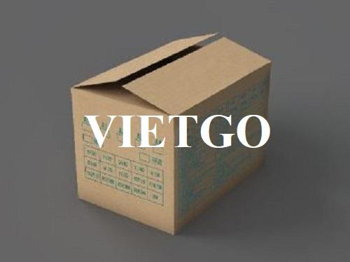 Cơ hội xuất khẩu thùng carton sang thị trường Úc