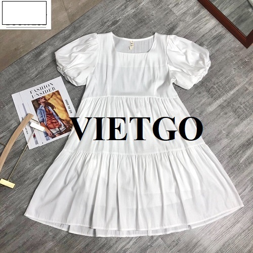 Cơ hội xuất khẩu váy sang thị trường Singapore