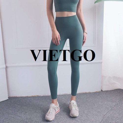 Cơ hội xuất khẩu mặt hàng quần legging sang thị trường Anh