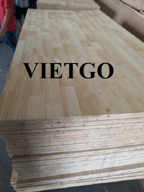 Cơ hội xuất khẩu thường xuyên gỗ ghép thanh sang thị trường Ấn Độ