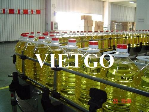 Cơ hội cung cấp sản phẩm Dầu thực vật cho vị khách VIP đến từ Costa Rica