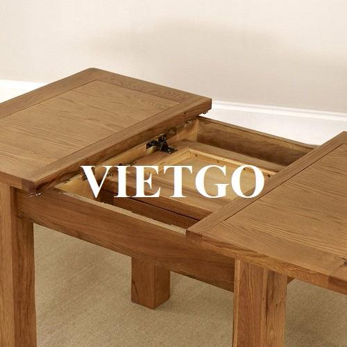 Cơ hội xuất khẩu bộ bàn ghế phòng bếp sang Vương quốc Anh