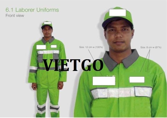 Áo quần bảo hộ lao động và mũ Vietgo